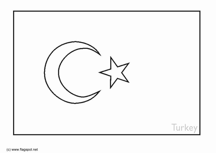 Turkish Flag Coloring Page Elegant Coloring Page Flag Turkey Free Printable Coloring Pages Flag Coloring Pages Turkish Flag Coloring Pages