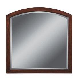 Allen Roth 32 In H X W Moravia Sable Bathroom Mirror