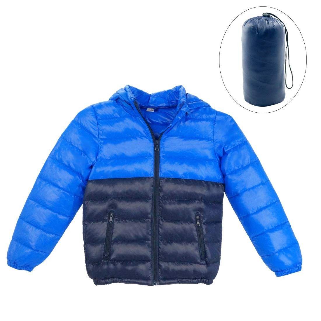 Boys Down Winter Coat Thin Warm Removable Hood Zipper Puffer Jacket 3 9t Deep Blue Cy1874o09sk Size 3 4 Years Down Winter Coats Kids Outdoor Clothes Winter Coat [ 1100 x 1100 Pixel ]