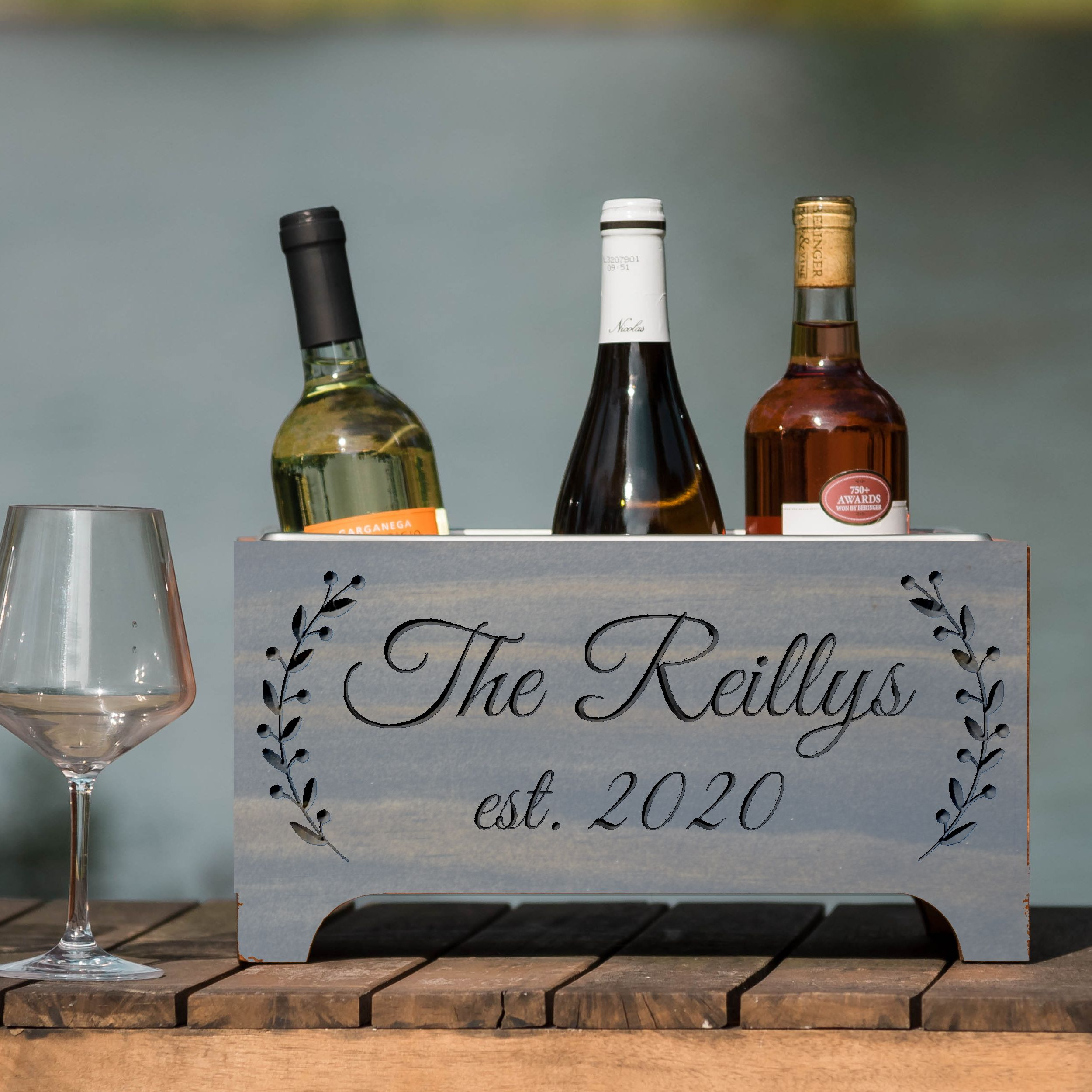 Personalized Wine Cooler Elegant in 2020 Creative