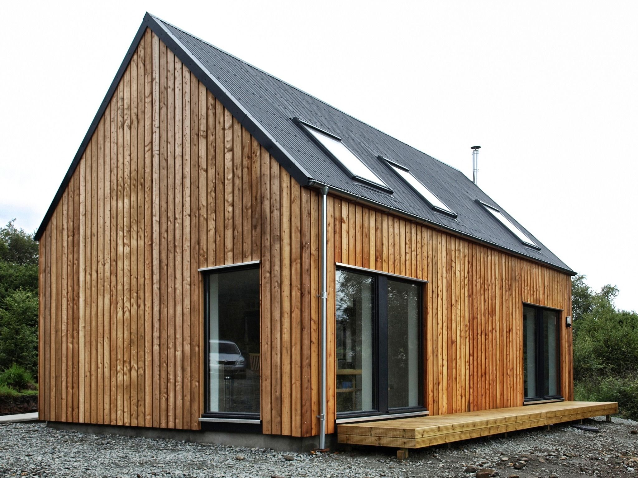Vintage timber frame barn addition farmhouse exterior burlington -  Based In The Isle Of Skye And Working Throughout The Highlands And Islands Of Scotland Specialising In Timber Construction And Sustainable Design