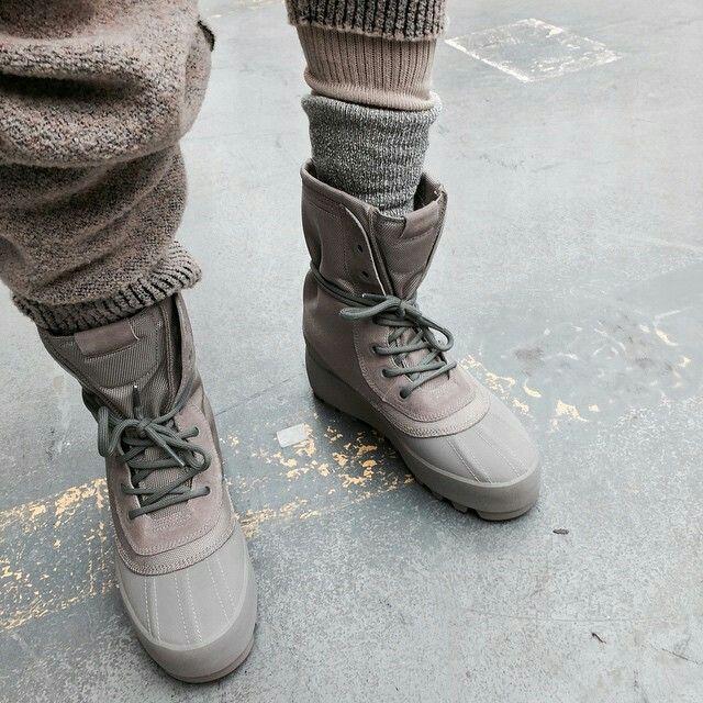 Kanye X adidas duck boots