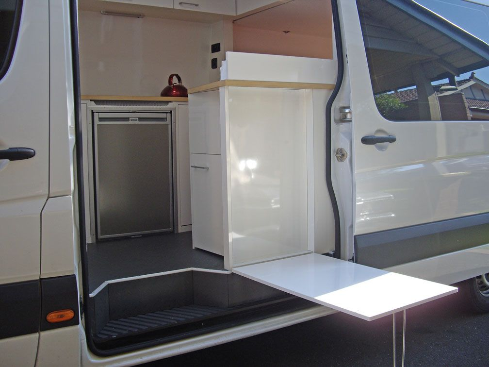 Outside Table On Stealth Sprinter Conversion I M Always