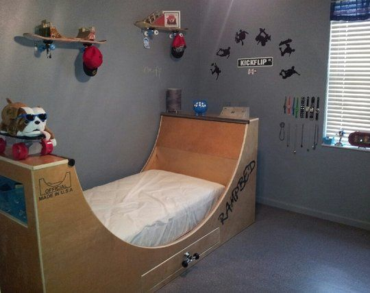 Rampbed   A Skateboard Bed