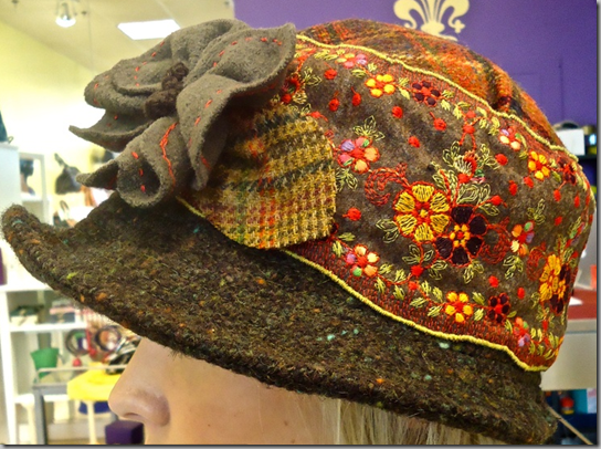 Wish I Knew Where To Get This Hat Beautiful Hats Felt Scarf Sewing Hats