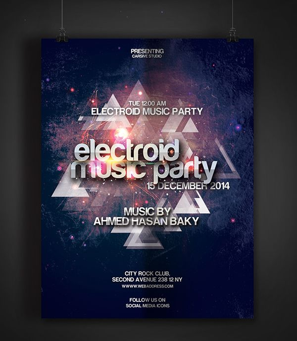 90 Awesome Free Flyer Templates PSD Flyer template, Party flyer - christian flyer templates