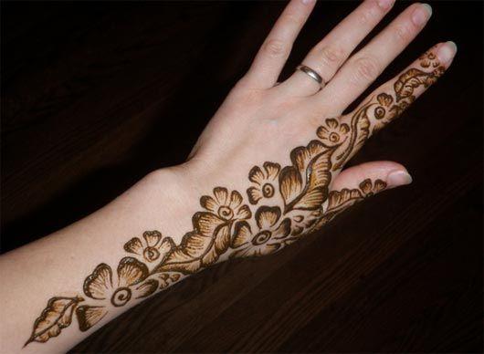 Mehndi Henna Design : Elegant mehendi henna designs multy shades art