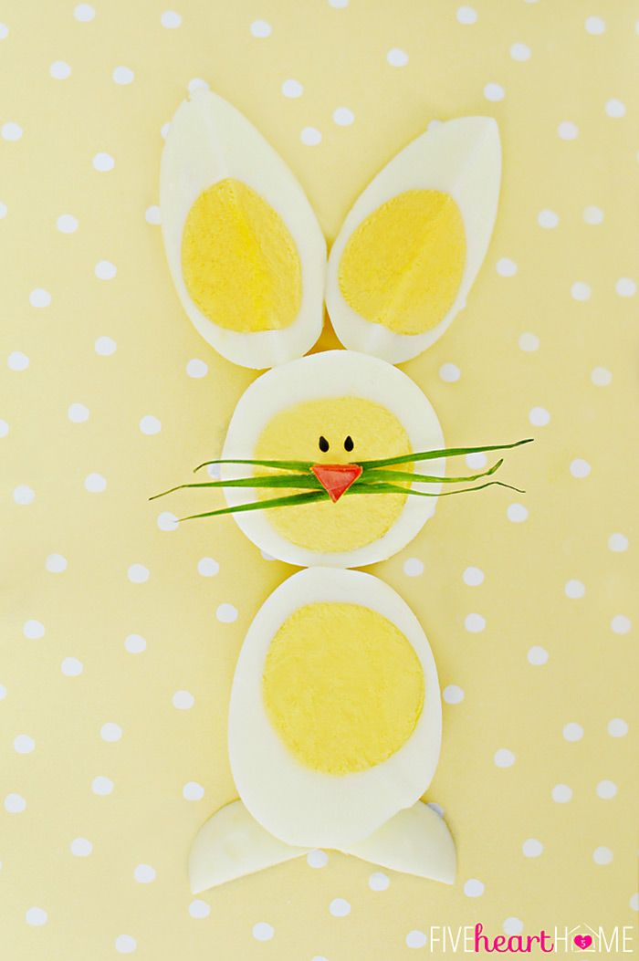 Hard boiled egg chicks bunnies a cute way to use up those hard boiled egg chicks bunnies a cute way to use up those extra ccuart Gallery