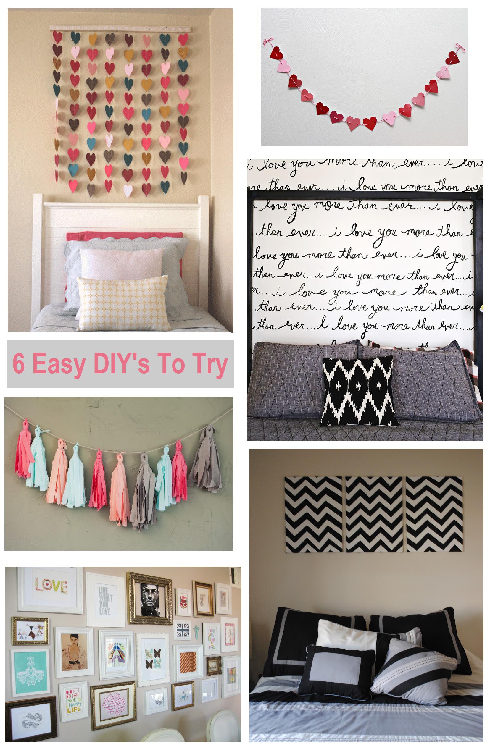 Lovely Diy Room Design Ideas Part - 6: Room · Diy Bedroom Wall Ideas