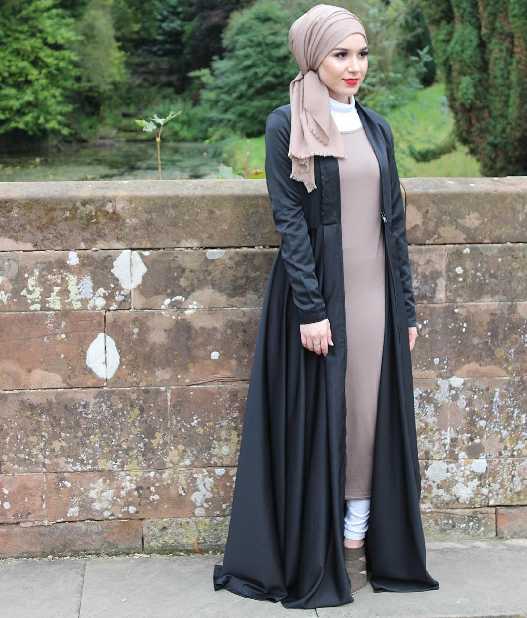 Abaya Modern Hijab Style Hijab Pinterest Modern Hijab