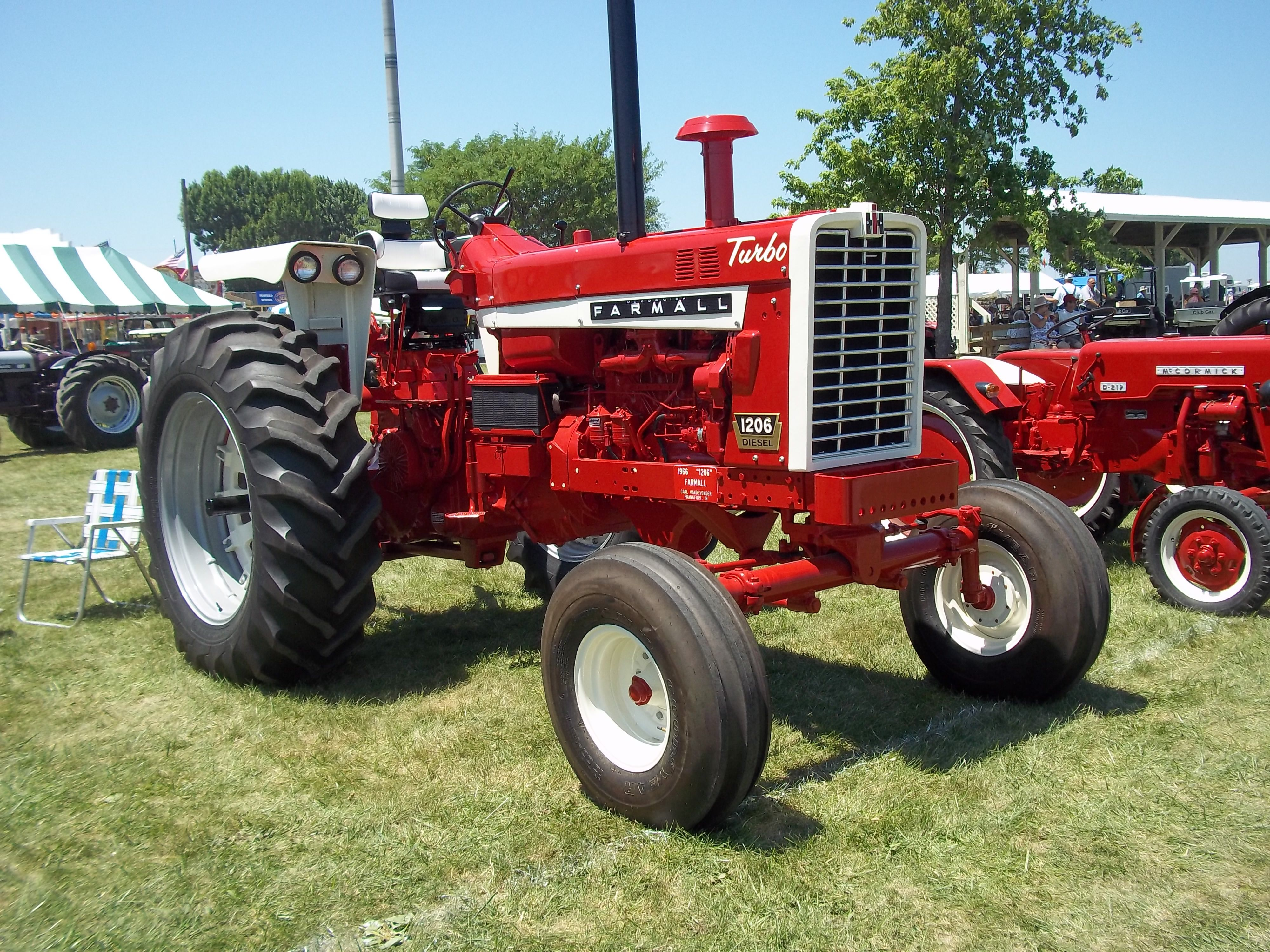 112hp Farmall 1206 It is rumored this was the most powerful