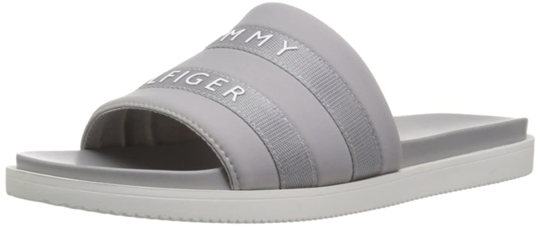 Tommy Hilfiger Women S Script Flat Sandal Click Image For More Details This Is An Affiliate Link In 2020 Tommy Hilfiger Women Womens Sandals Flat Tommy Hilfiger