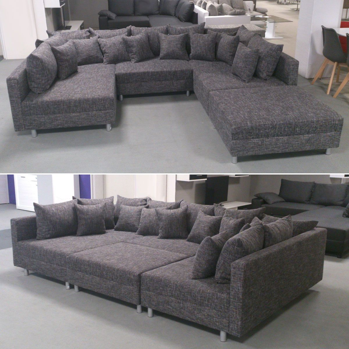 Ecksofa Xxl Ottomane Tolle Ecksofa Xxl Room Furniture In 2019 Couch Sofa Sofa Bed