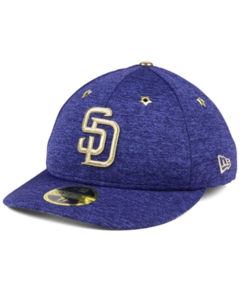 more photos 8e9a4 c997e New Era San Diego Padres 2017 All Star Game Patch Low Profile 59FIFTY  Fitted Cap - Blue 7
