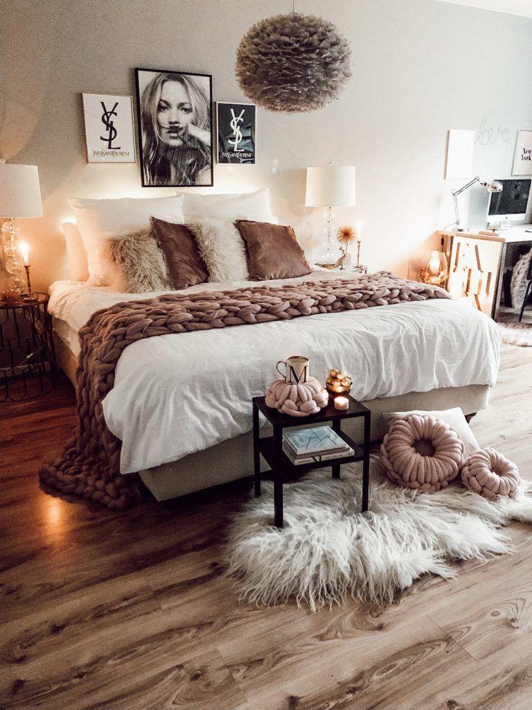 rosa Wandfarbe schlafzimmer, Rosa schlafzimmer und