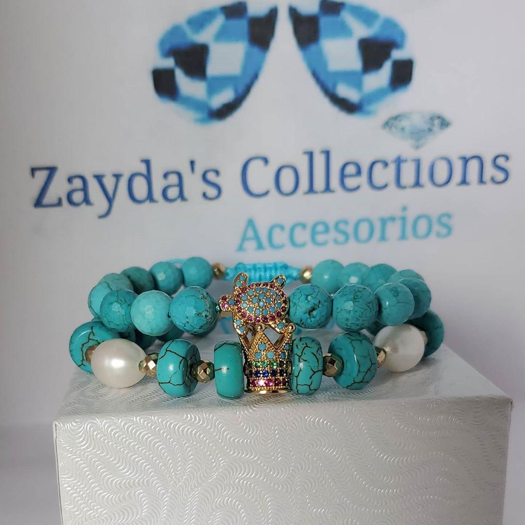 "Zayda's Collections Accesories on Instagram: ""Pulseras disponibles pedidos text y WhatsApp #786_302_9479 #zaydascollectionsaccesorios #fashionworld #fashiondesigner #tortuga #queen"""