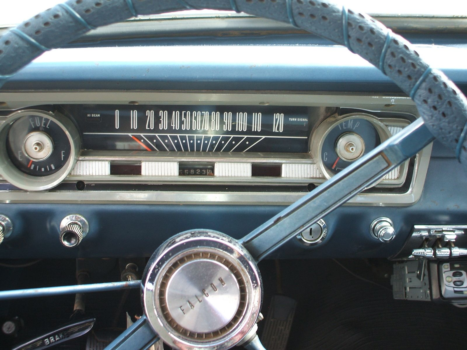ford falcon how to use cruise control