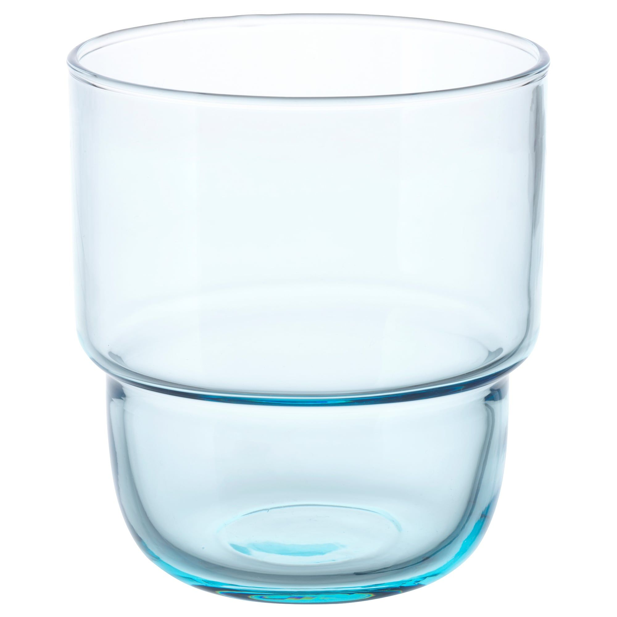 verre ikea bleu clair