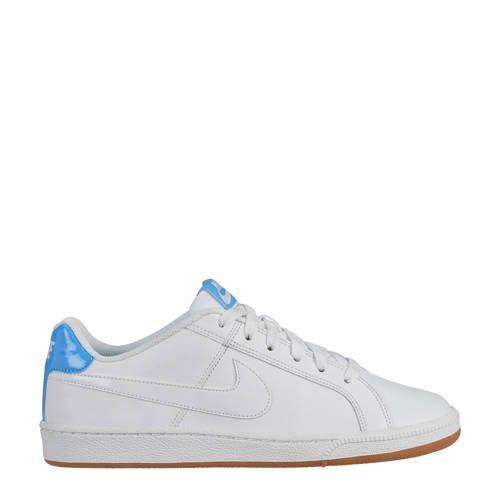 Nike Court Royale sneakers wit/kersenrood - Nike sneakers ...
