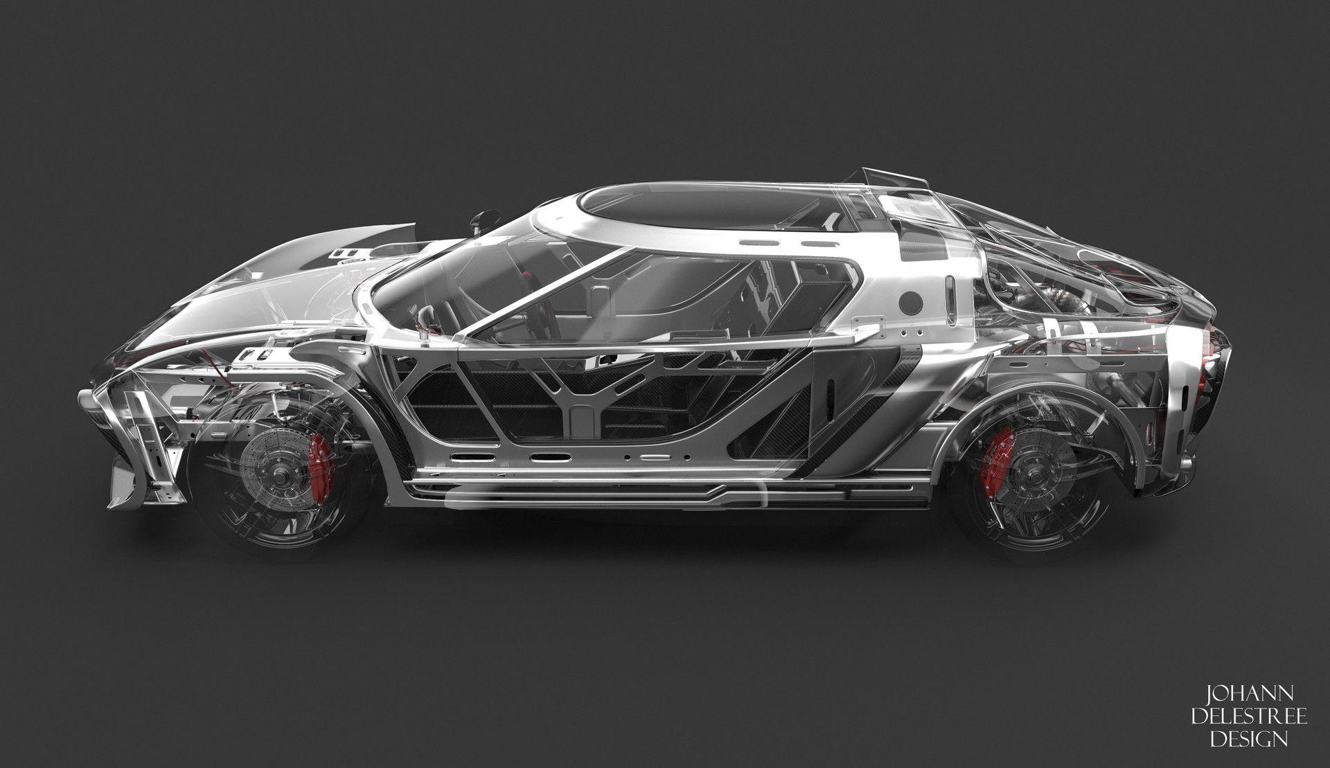 Artstation Concept Car Chassis Johann Delestree Concept Cars Car Concept