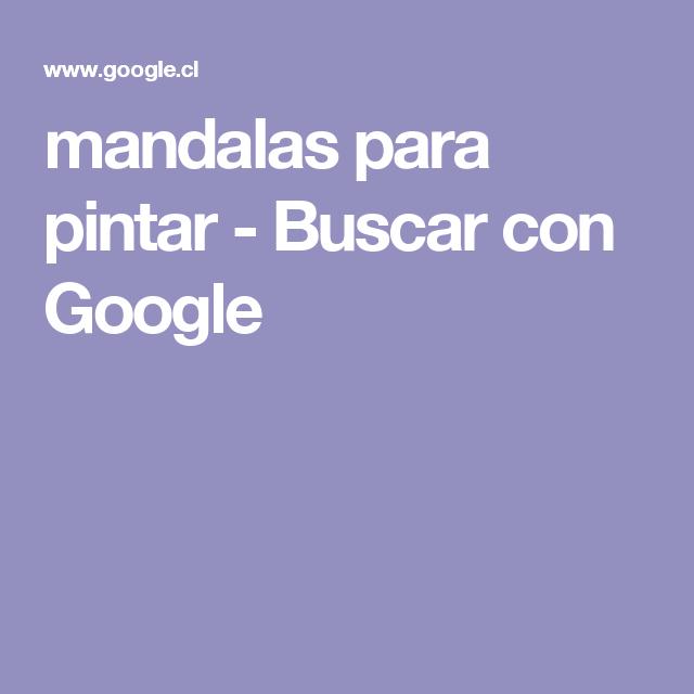 mandalas para pintar - Buscar con Google