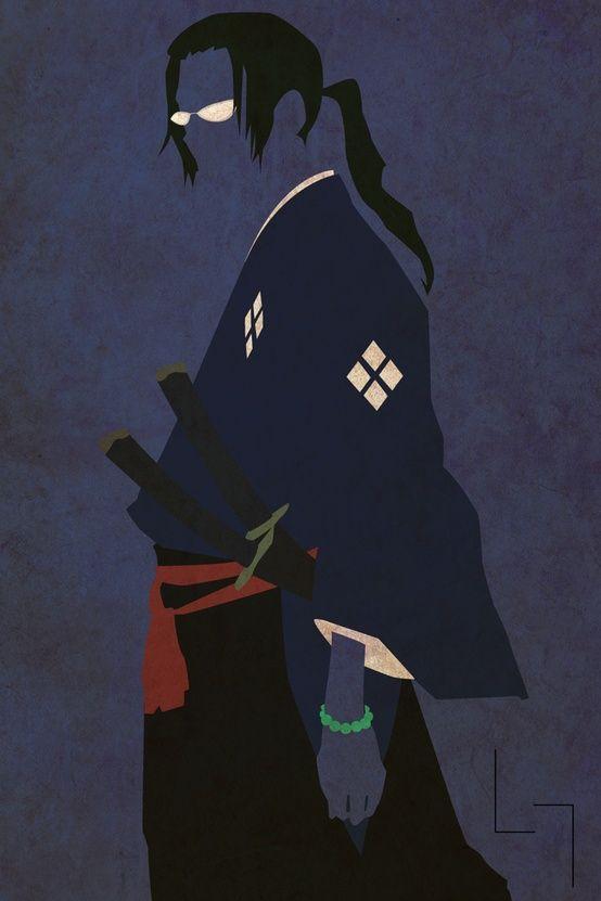 Minimalist Jin Samurai Champloo Samurai Anime