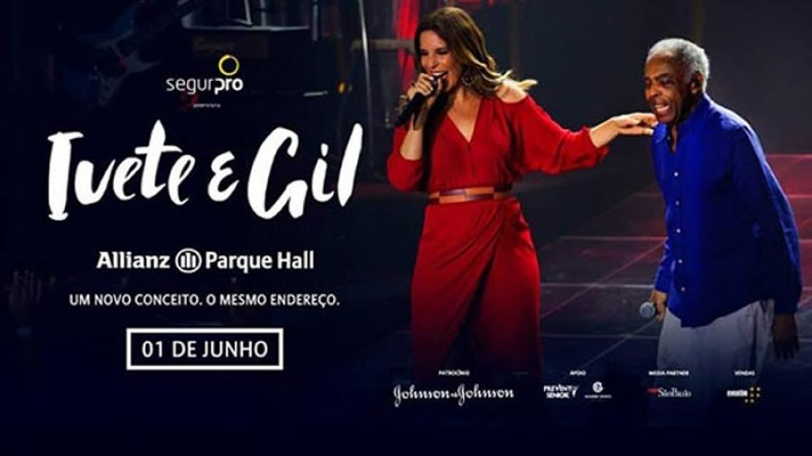 01 06 Ivete E Gil No Allianz Park Hall Hall Festivais Ivete