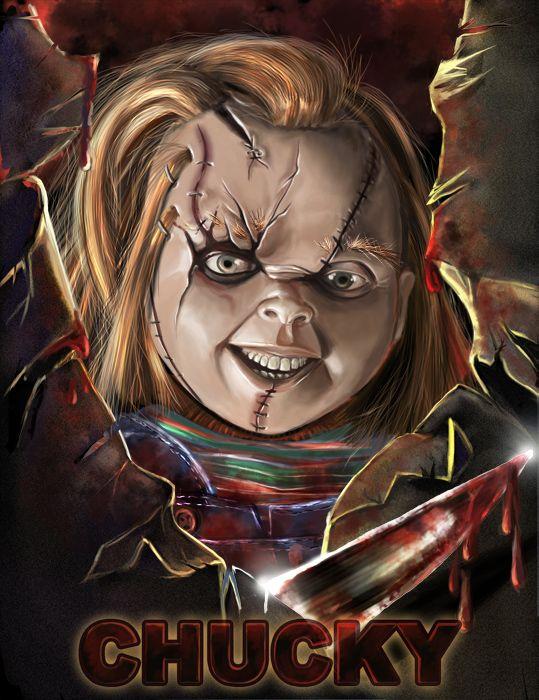 Chucky by Anuta71 DARK CHILDS Pinterest Chucky