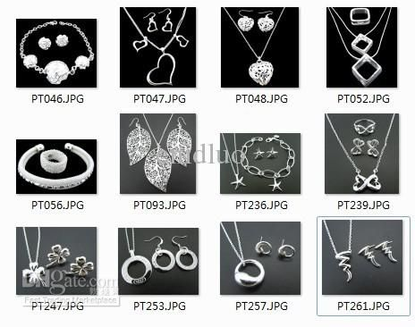 Wholesale Other Jewelry Sets - Buy --New Fashion Women's Charming Jewelry 925 Silver Mix Jewelry Set ZHP001 ., $3.03 | DHgate