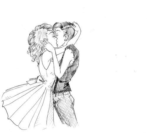 Love This Couple Drawings Lesbian Art Cute Lesbian Couples