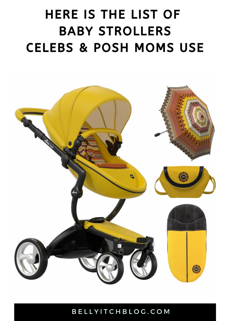 Here are the Strollers Celeb and Posh Moms Use