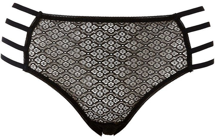 61aa7511516f Plus Size Caged Lace Cheeky Panties | Products | Charlotte russe ...