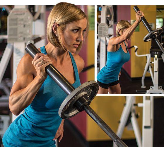 Shoulder Work Ahead: Jessie Hilgenberg's Delt Workout #delts #weightlifting #fitness