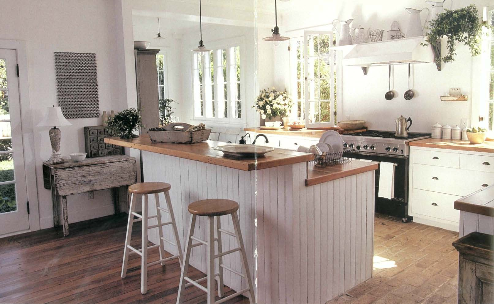 Country Living Kitchens I Have A Thing For Beadboard Home Kitchens Kitchen Renovation Kitchen