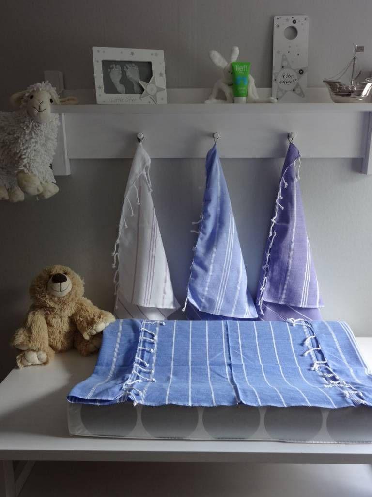 fe8dd484c9c Ottomania hamam handdoek 100x50 blauw | Kleurenoverzicht Ottomania ...