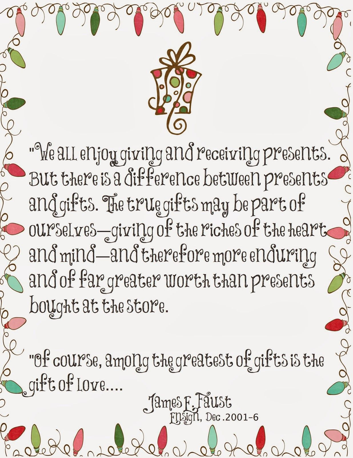The Greatest Of Gifts Is The Gift Of Love Christmas Gift Quotes Christmas Quotes Merry Christmas Quotes