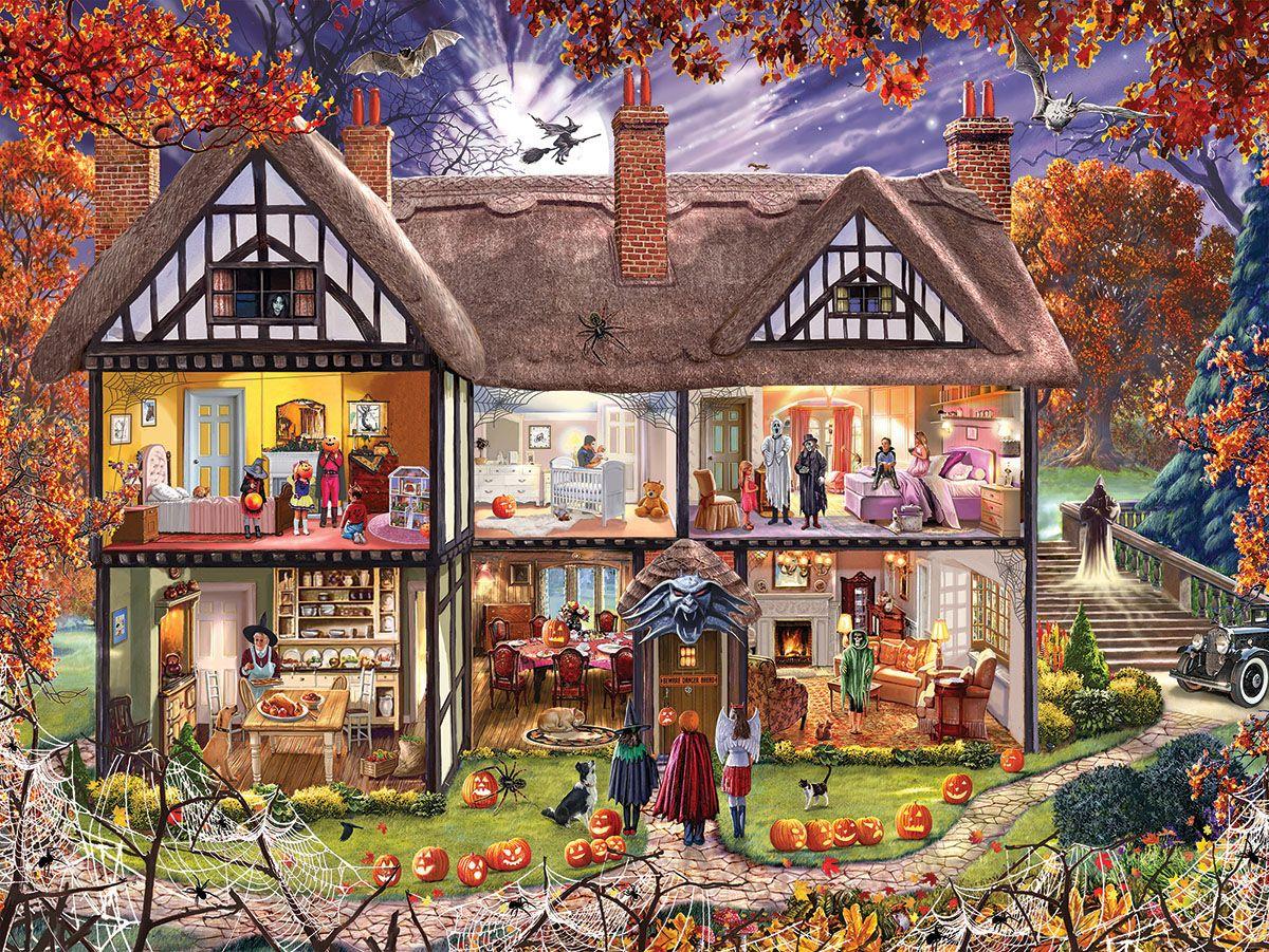 5D Diamond Halloween Peinture Bricolage Broderie Cross Stitch Home Decor Artisanat Art
