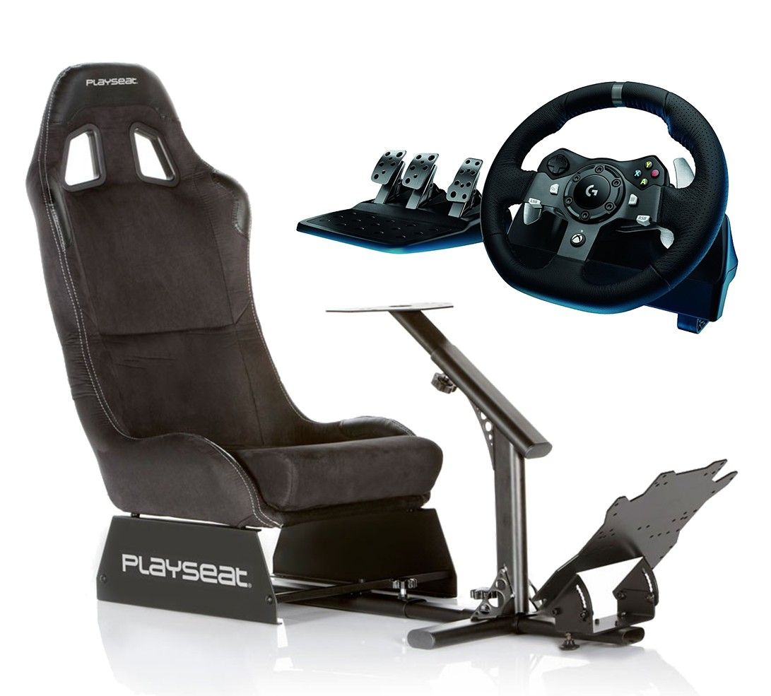 Playseat Evolution Alcantara with Improved Pedal Plate +