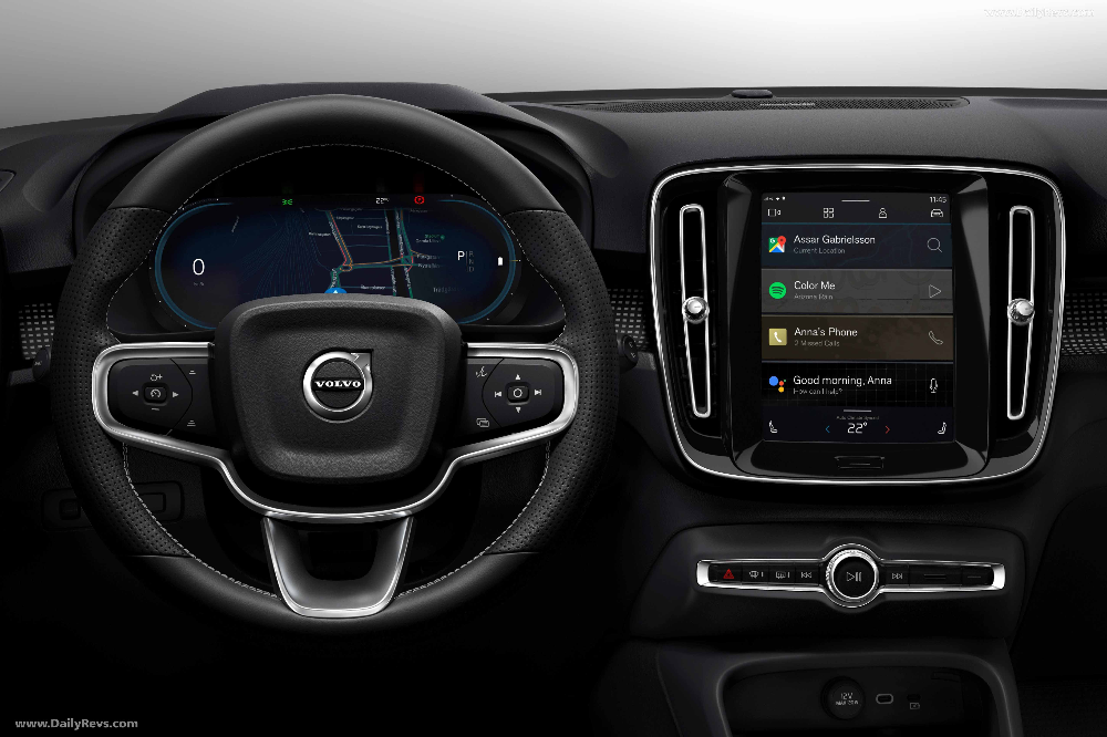 2020 Volvo Xc40 Recharge Hq Pictures Specs Information Videos In 2020 Volvo Infotainment System Infotainment