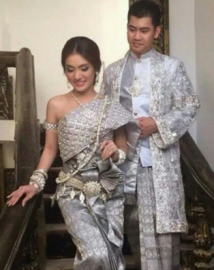 Silver Love It Khmer Wedding Cambodian Wedding Dress Cambodian Wedding Khmer Wedding