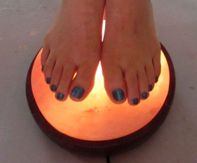 Genuine Himalayan Salt Lamp Entrancing New Item Foot Detox Himalayan Salt Lamp  Healthy Me  Pinterest Design Decoration