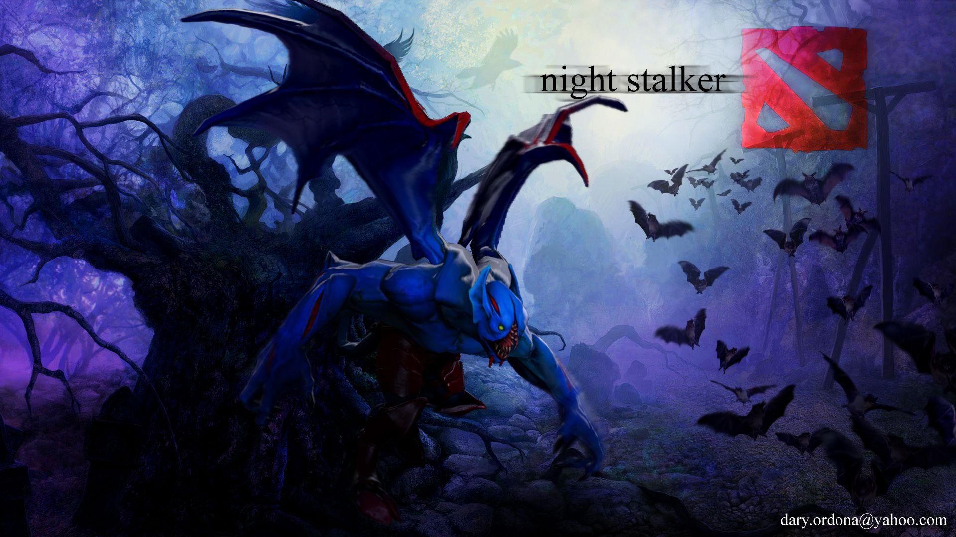 Night Stalker Dota 2 Dota In 2019 Dota 2 Dota 2 Wallpaper