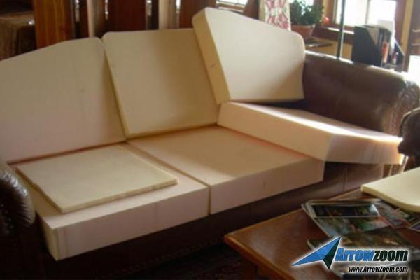 14 X 14 Soft Medium High Density Upholstery Foam Cushion Sheet