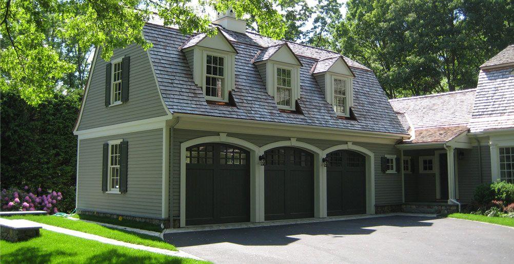 Garage Doors Roof Lines Dormers Patrick Ahearn Garage Door Design Hamptons House Gambrel