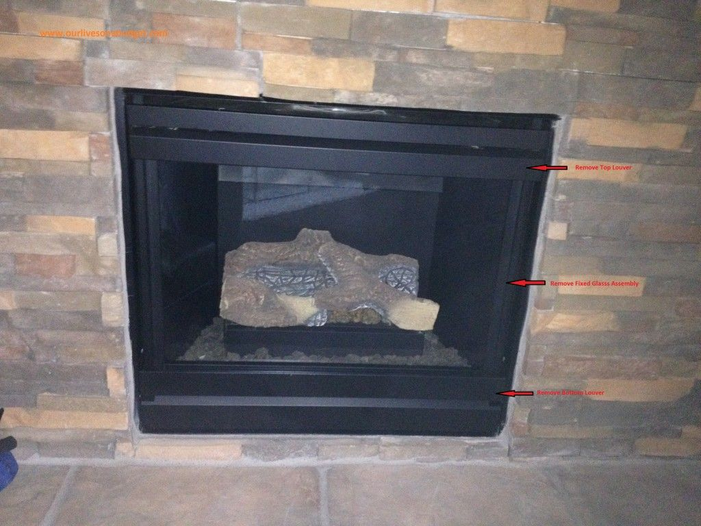 How to install fireplace blower kit - Step 2