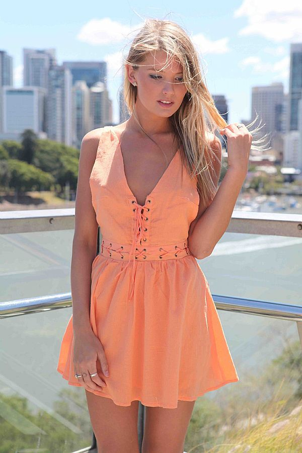 LACE ME DRESS $29  AVAILABLE NOW!!! www.xenia.com.au #xenia #xeniaboutique #dress #fashion #girl #model