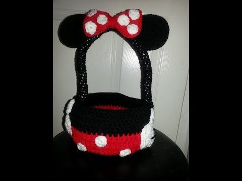 How to crochet minnie mouse bag soda tab purse full free pattern ...
