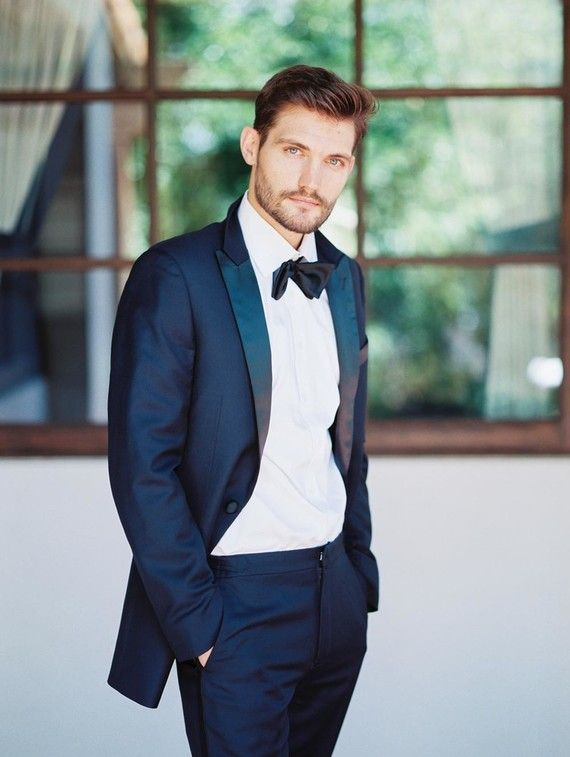Midnight Blue Tuxedo Blue Tuxedos Wedding Suits Blue Tux