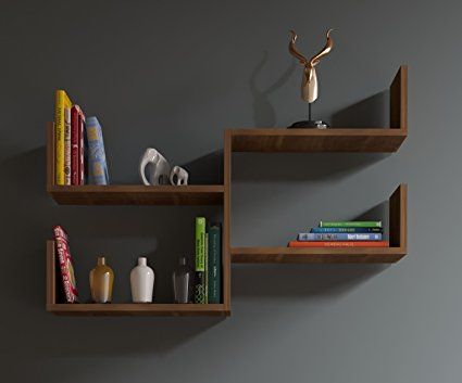FRESH Wandregal - Bücherregal - Hängeregal - Dekoregal für