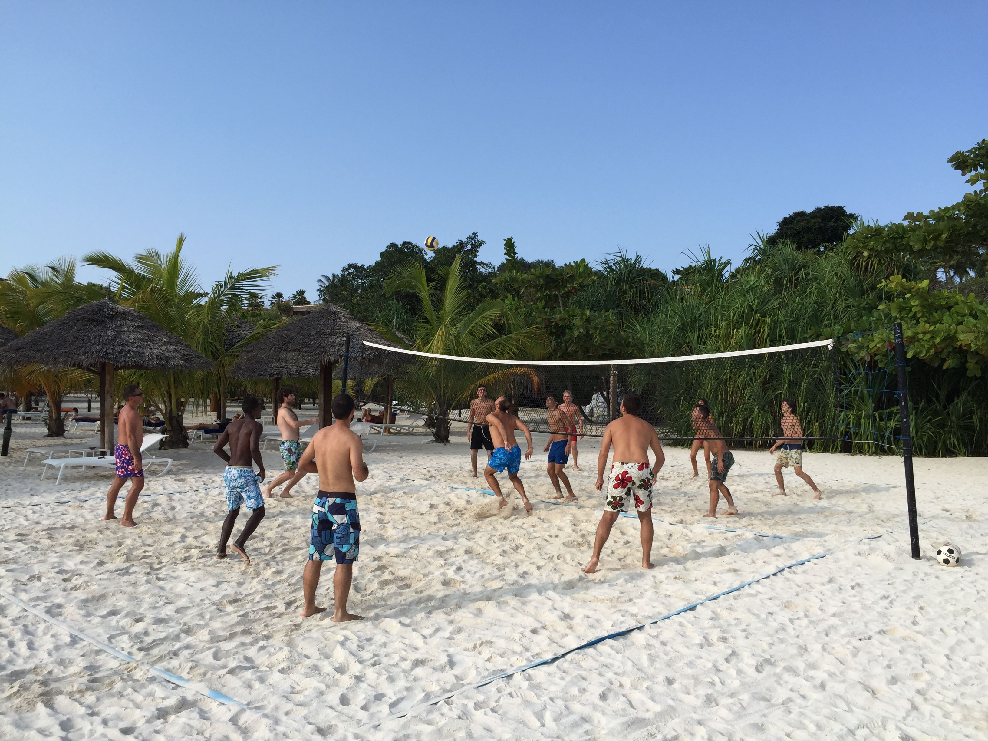 Are You Ready For An Exciting Beach Volley Match On The White Beach At Diamonds La Gemma Dell Est Gemme